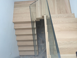 Floating Oak Stairs Devon